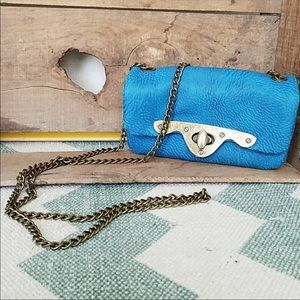 Free People chain crossover bag